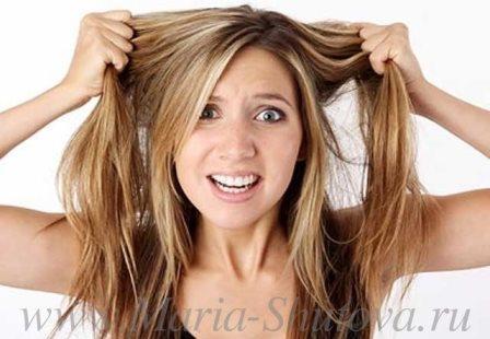 Выпадение волос.